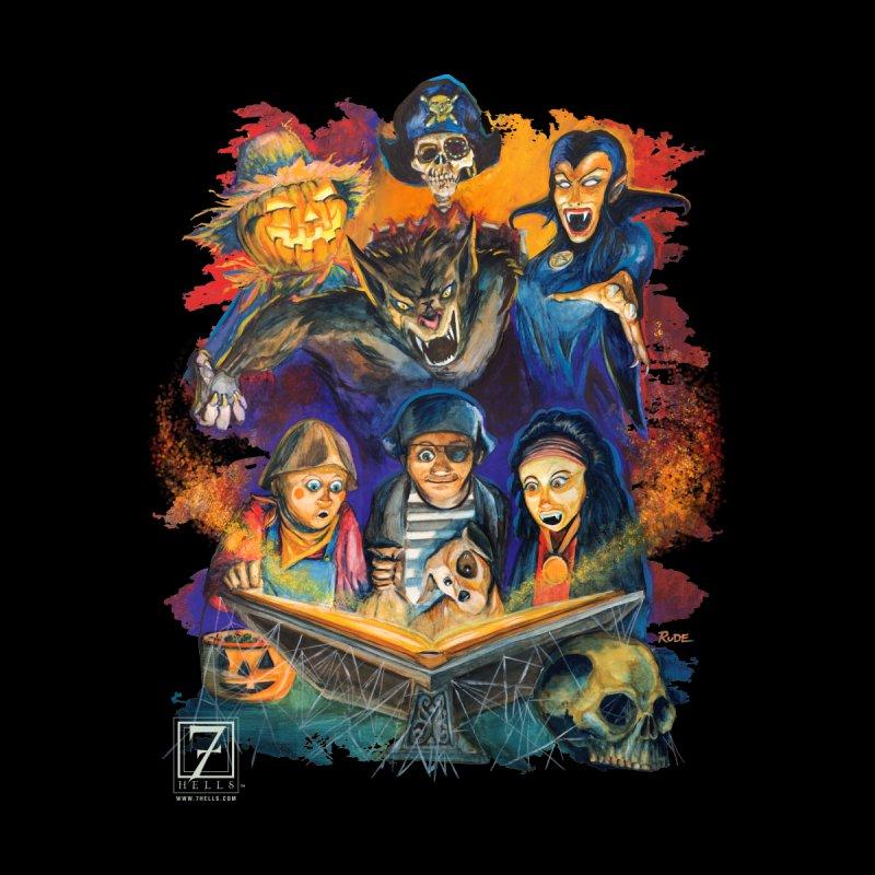 Halloween Dreams Women's Sweatshirt by 7Hells: The Retro Horror Art of Bill Rude