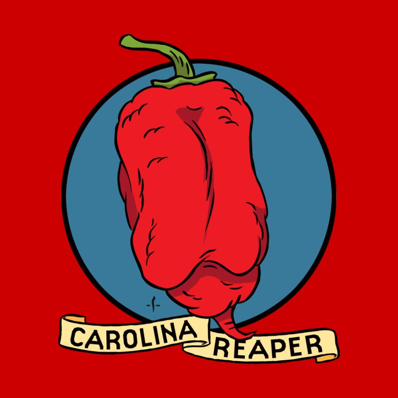 Carolina Reaper Men's T-Shirt by 7 Pot Club