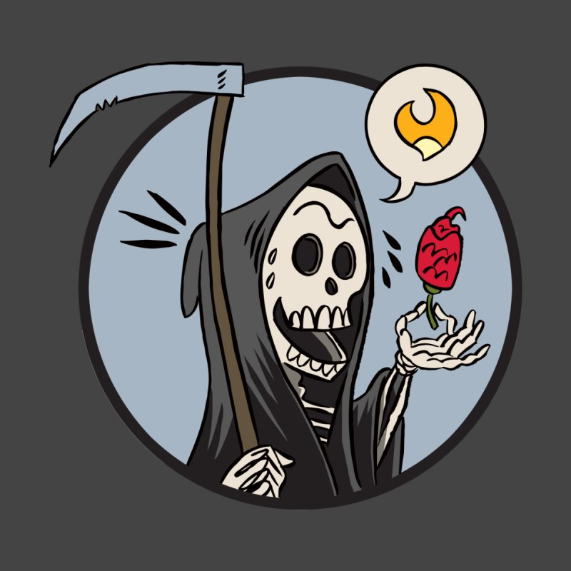 Grim Reapers Men's T-Shirt by 7 Pot Club