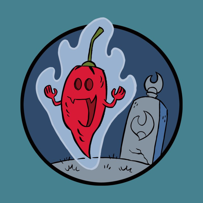 Ghost of Ghost Pepper Men's T-Shirt by 7 Pot Club