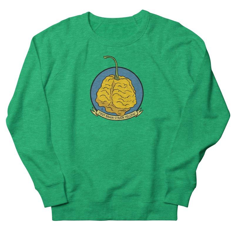 7 Pot Brain Strain Yellow Women's Sweatshirt by 7 Pot Club