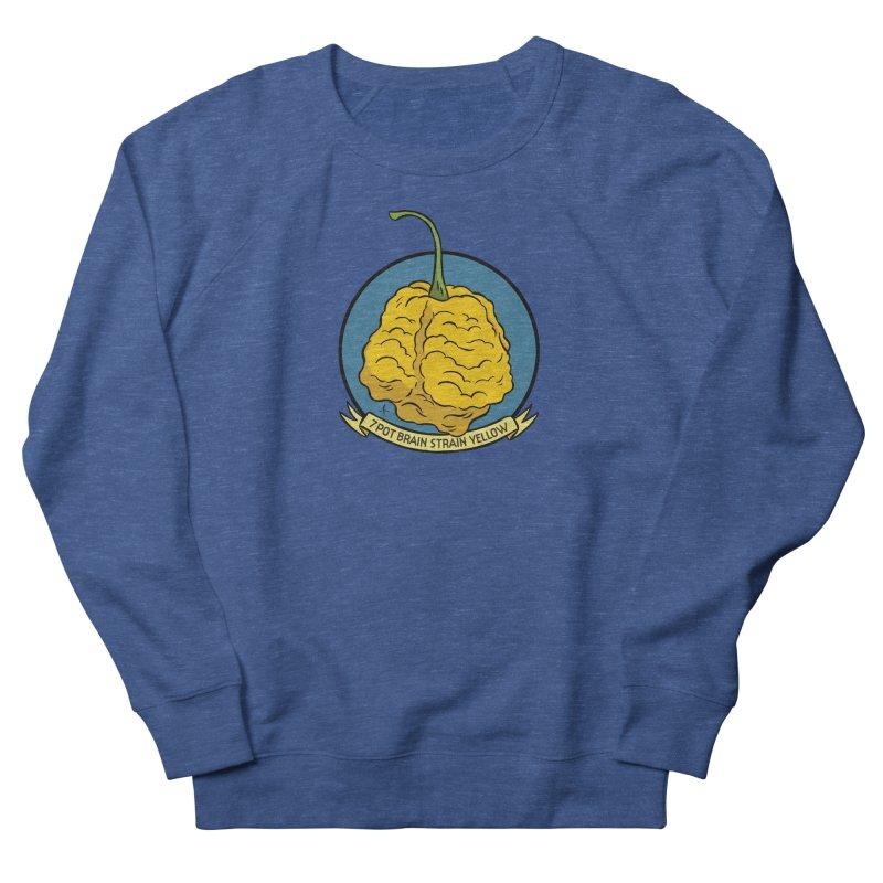 7 Pot Brain Strain Yellow Men's Sweatshirt by 7 Pot Club