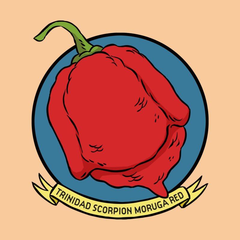 Trinidad Scorpion Moruga Red Kids Toddler Zip-Up Hoody by 7 Pot Club