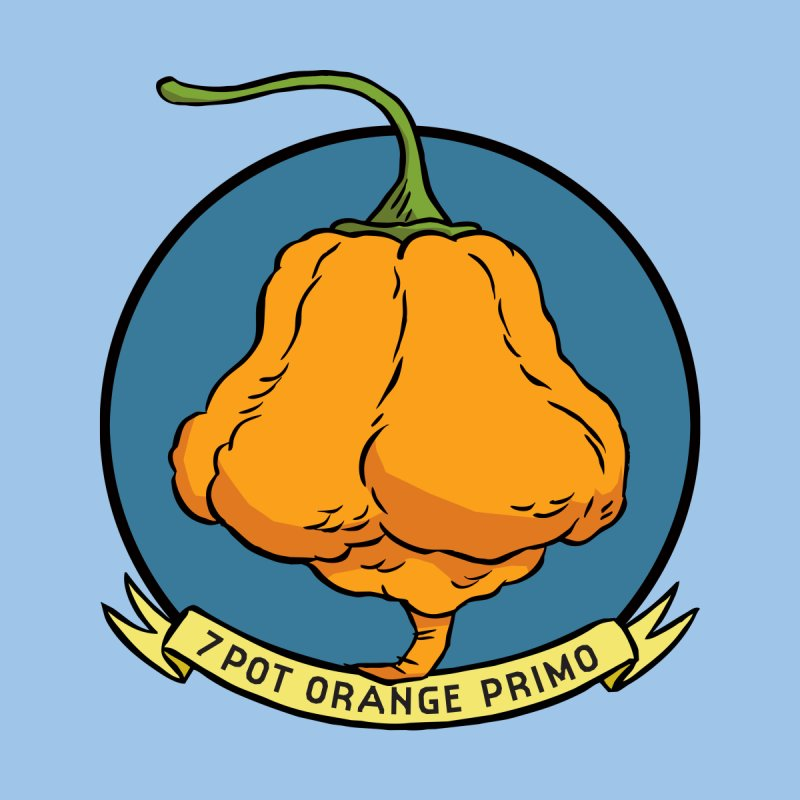 7 Pot Orange Primo Accessories Sticker by 7 Pot Club
