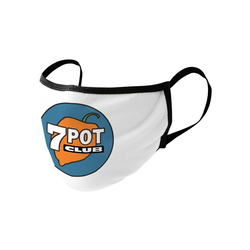 7 Pot Club Logo Accessories Face Mask by 7 Pot Club