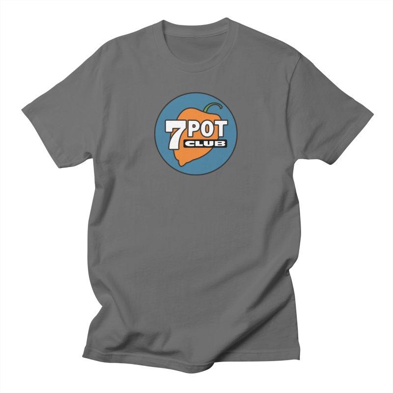7 Pot Club Logo Men's T-Shirt by 7 Pot Club