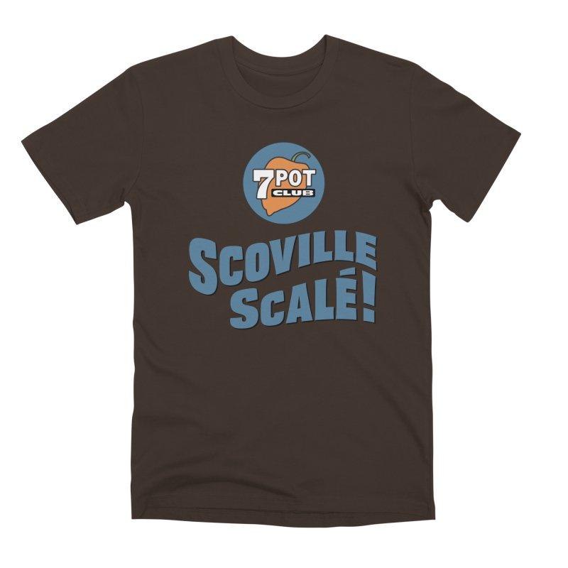 Scoville Scalé Men's T-Shirt by 7 Pot Club