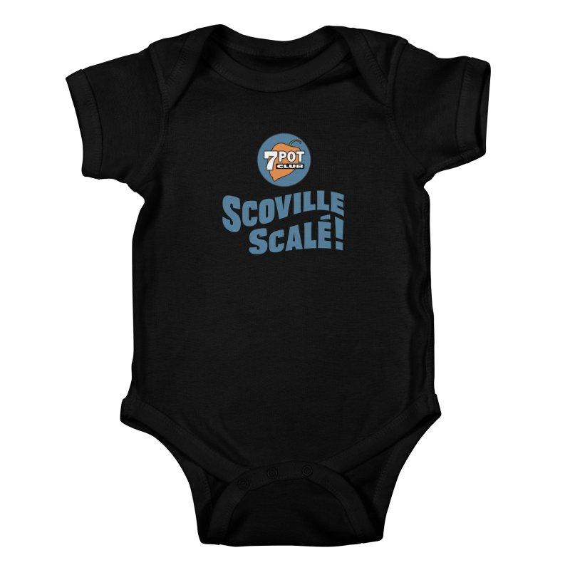 Scoville Scalé Kids Baby Bodysuit by 7 Pot Club