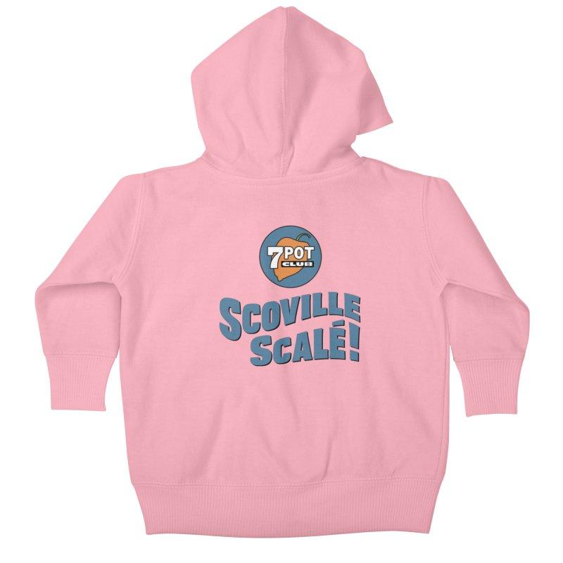 Scoville Scalé Kids Baby Zip-Up Hoody by 7 Pot Club