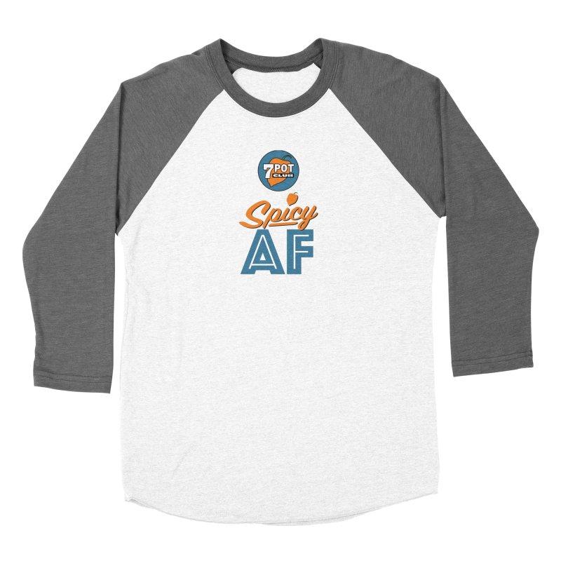 Spicy AF Women's Longsleeve T-Shirt by 7 Pot Club