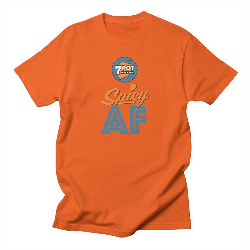 Spicy AF Men's T-Shirt by 7 Pot Club