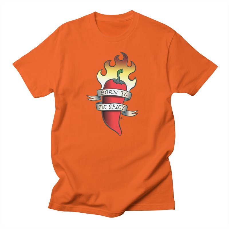 Born to Be Spicy Men's T-Shirt by 7 Pot Club