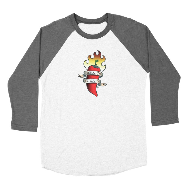 Born to Be Spicy Women's Longsleeve T-Shirt by 7 Pot Club