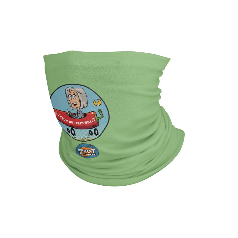 Rob's Peppermobile Accessories Neck Gaiter by 7 Pot Club