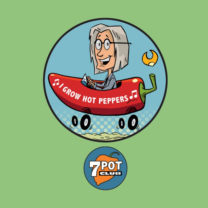 Rob's Peppermobile Kids T-Shirt by 7 Pot Club