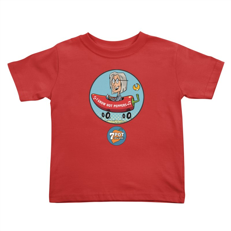 Rob's Peppermobile Kids Toddler T-Shirt by 7 Pot Club