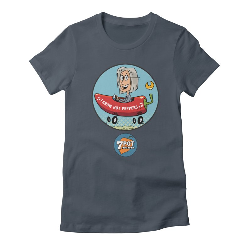 Rob's Peppermobile Women's T-Shirt by 7 Pot Club