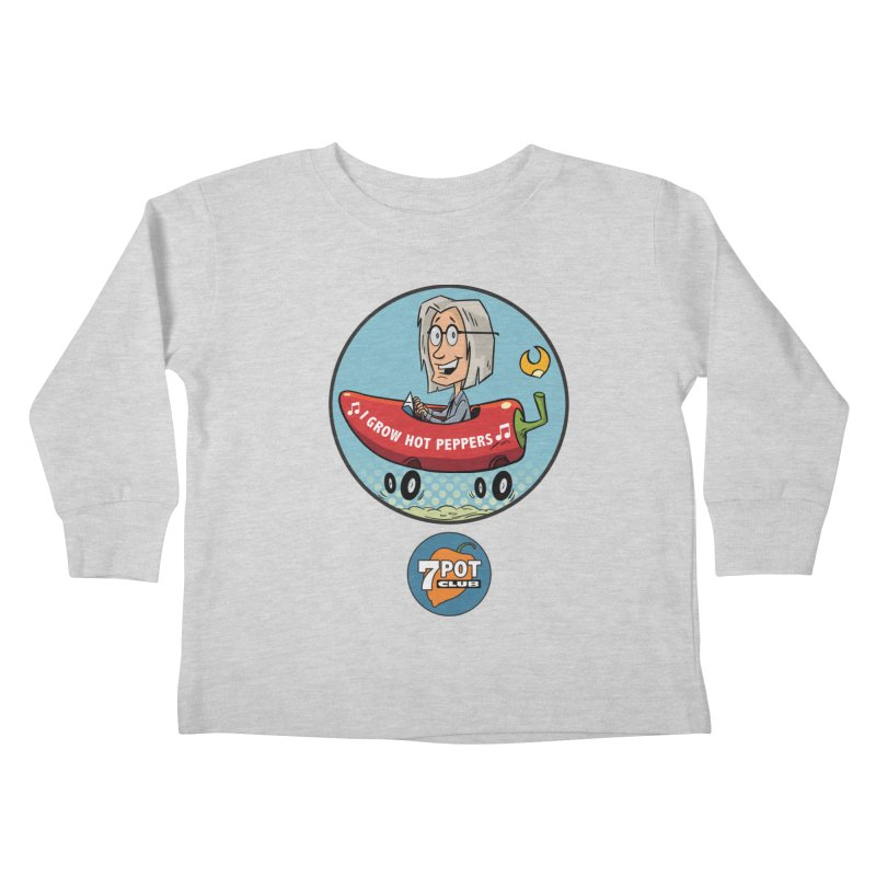 Rob's Peppermobile Kids Toddler Longsleeve T-Shirt by 7 Pot Club