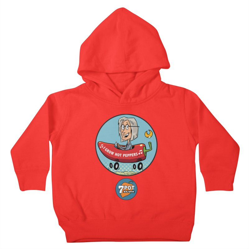 Rob's Peppermobile Kids Toddler Pullover Hoody by 7 Pot Club