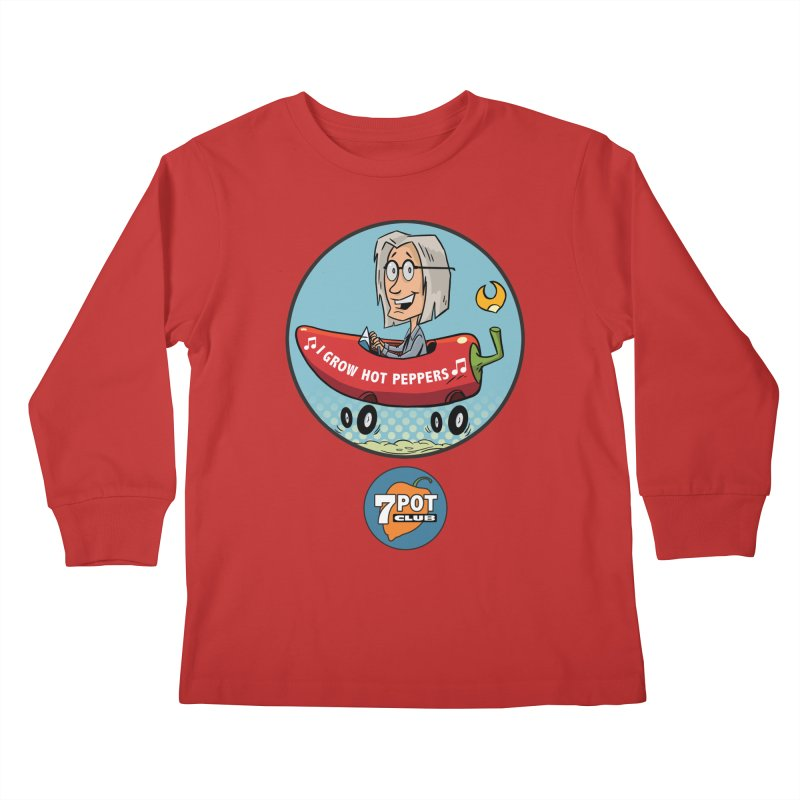 Rob's Peppermobile Kids Longsleeve T-Shirt by 7 Pot Club