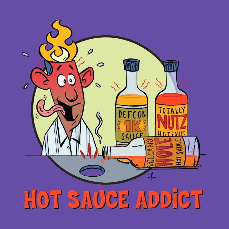Hot Sauce Addict Accessories Face Mask by 7 Pot Club