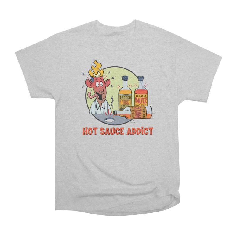 Hot Sauce Addict Men's T-Shirt by 7 Pot Club