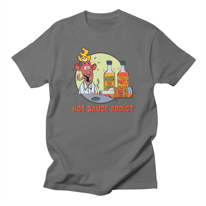 Hot Sauce Addict Women's T-Shirt by 7 Pot Club