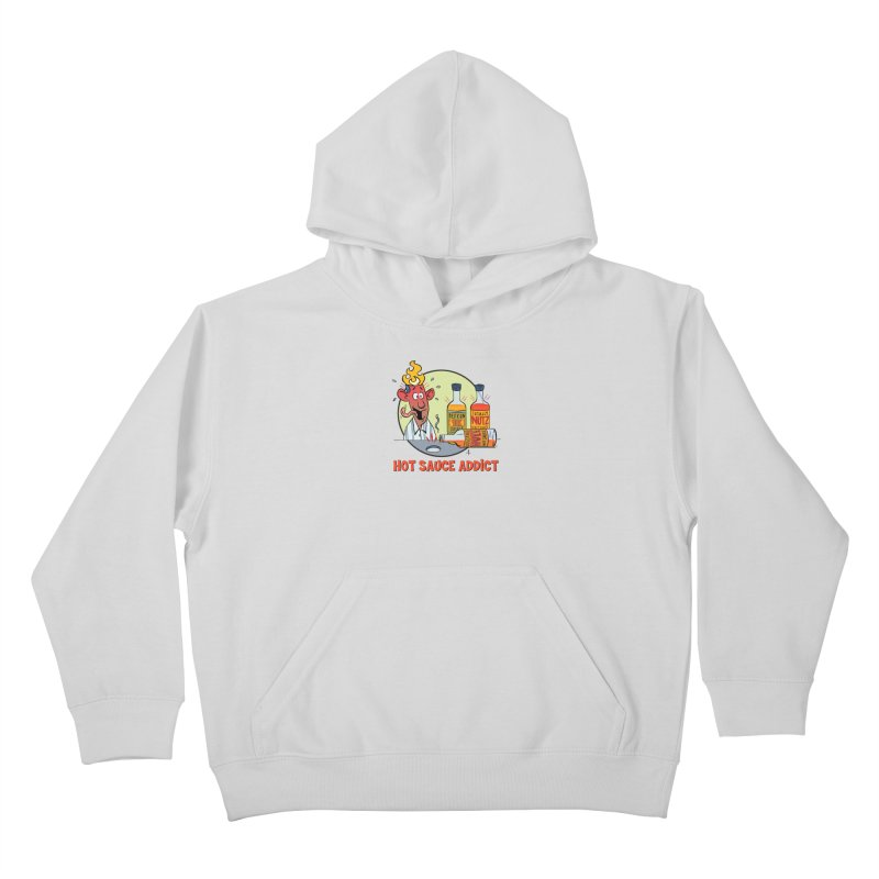 Hot Sauce Addict Kids Pullover Hoody by 7 Pot Club