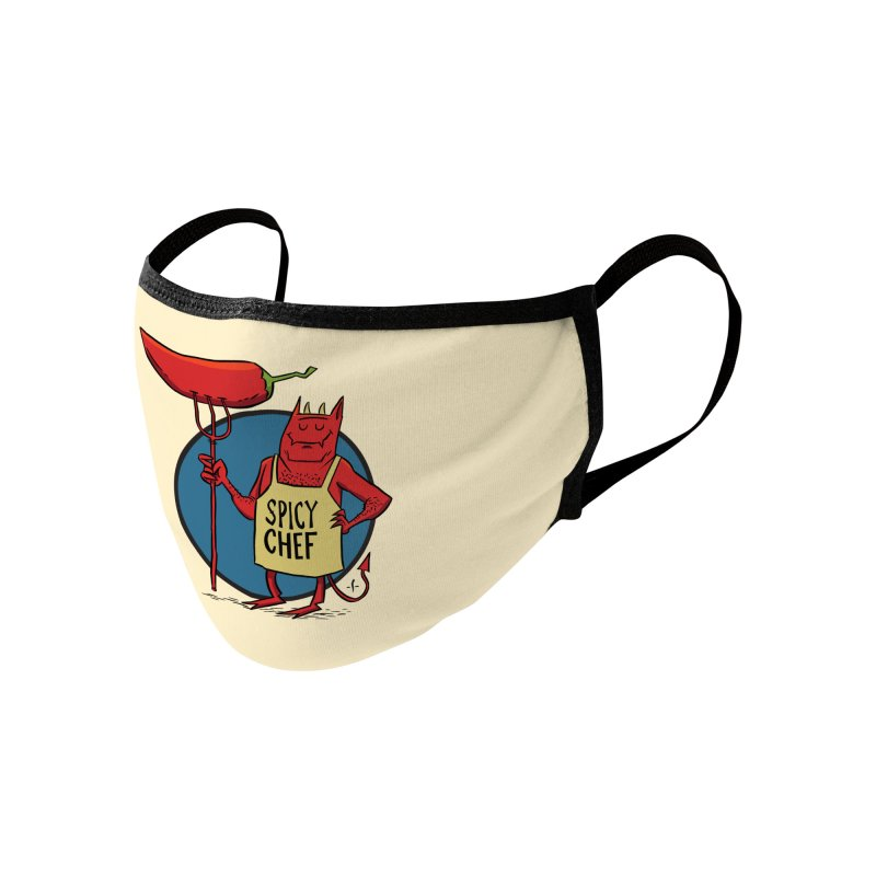 Spicy Chef Accessories Face Mask by 7 Pot Club