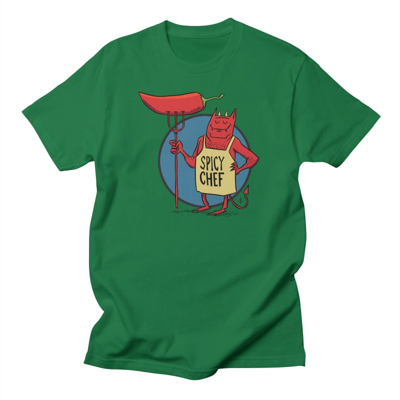 Spicy Chef Men's T-Shirt by 7 Pot Club