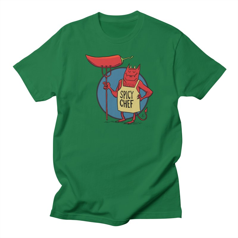 Spicy Chef Women's T-Shirt by 7 Pot Club
