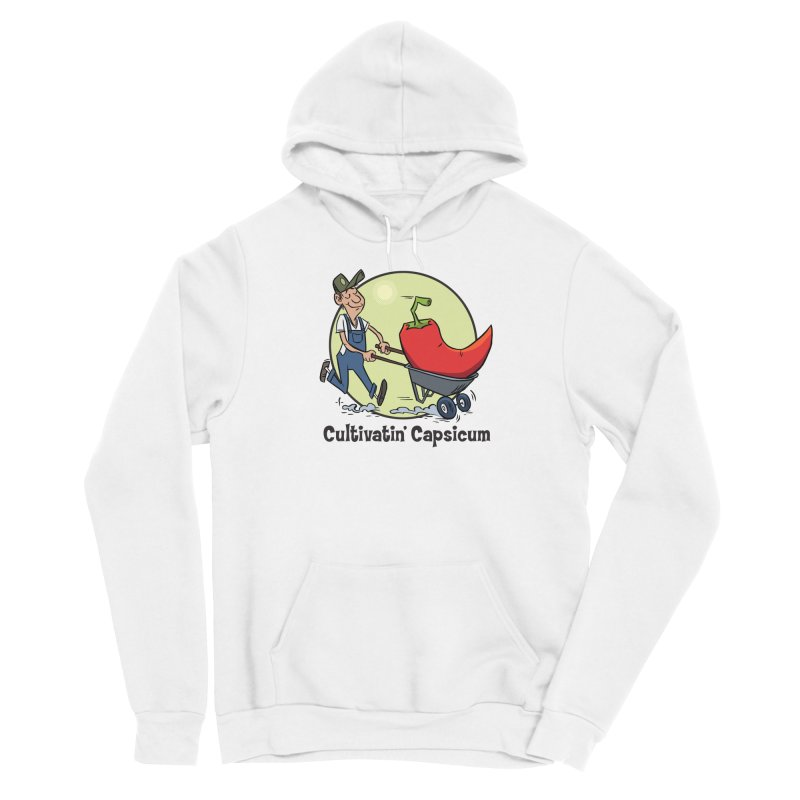 Cultivatin' Capsicum Women's Pullover Hoody by 7 Pot Club