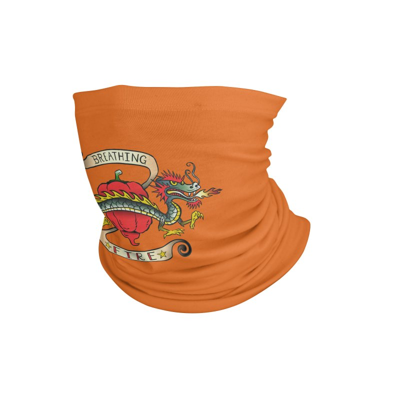 Breathing Fire Accessories Neck Gaiter by 7 Pot Club