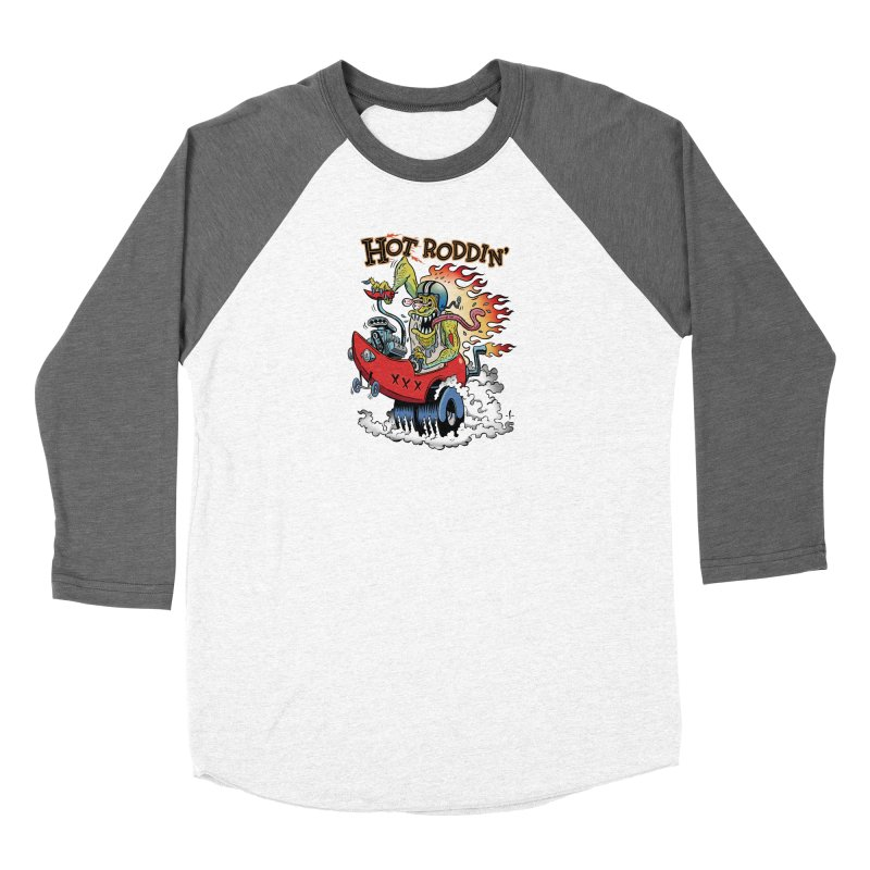 Hot Roddin' Women's Longsleeve T-Shirt by 7 Pot Club