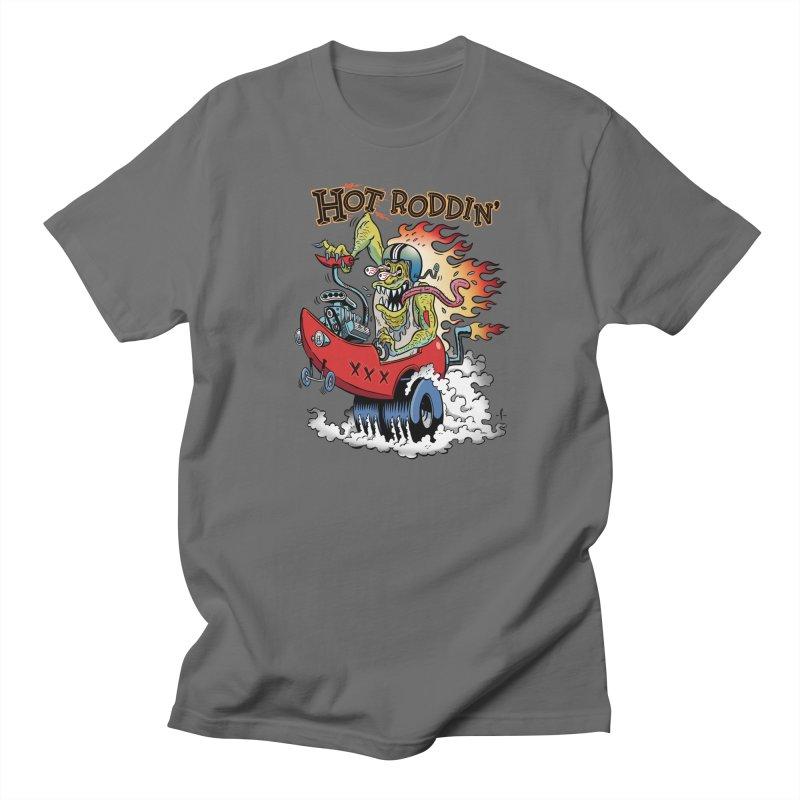 Hot Roddin' Men's T-Shirt by 7 Pot Club