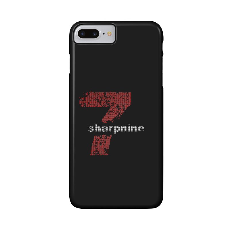 7 Sharp 9 Pixelized in iPhone 7 Plus Phone Case Slim by 7 Sharp 9 Store