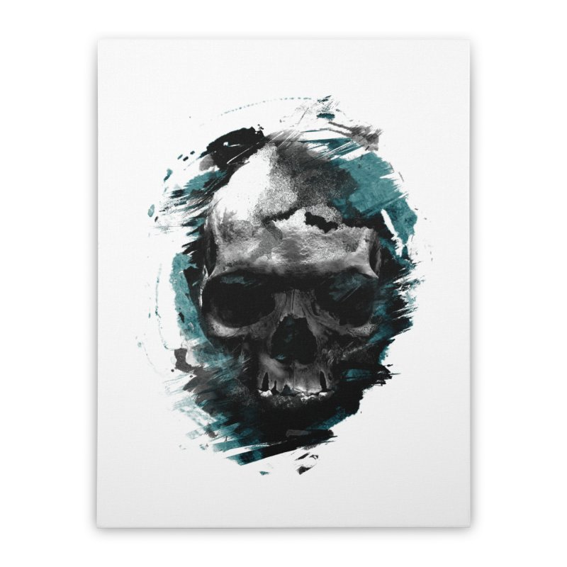 Skulls Home Stretched Canvas by 7sixes's Artist Shop
