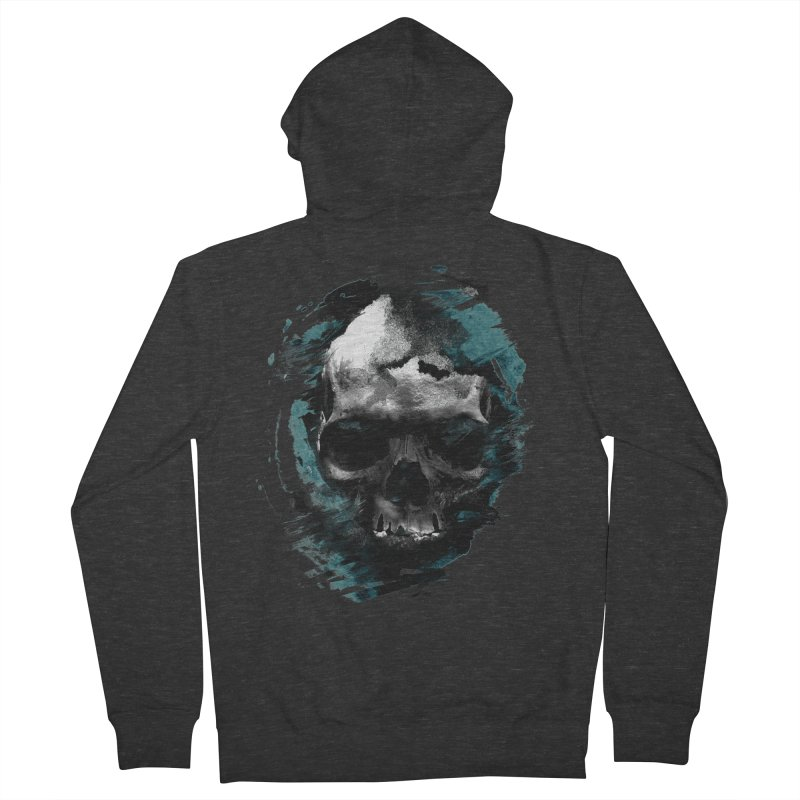 Skulls Men's Zip-Up Hoody by 7sixes's Artist Shop