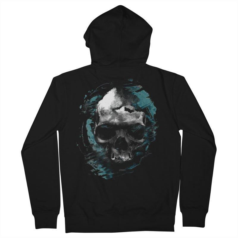 Skulls Men's Zip-Up Hoody by 7sixes's Artist Shop
