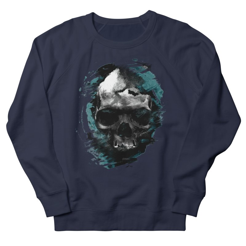 Skulls Women's French Terry Sweatshirt by 7sixes's Artist Shop