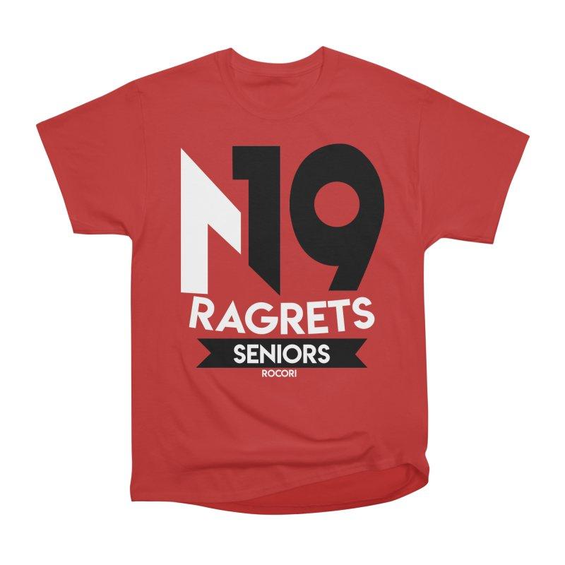 ROCORI Seniors 18-19 #3 Women's Heavyweight Unisex T-Shirt by 7sixes's Artist Shop