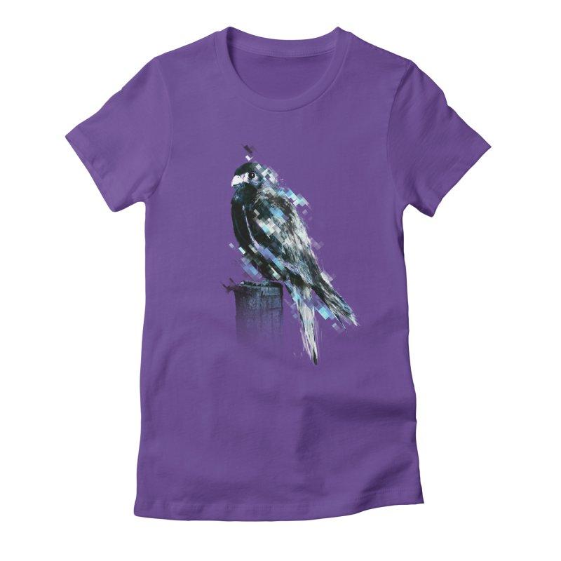 Flight Women's Fitted T-Shirt by 7sixes's Artist Shop