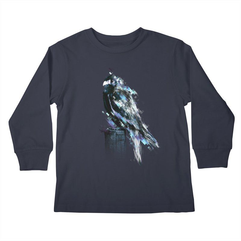Flight Kids Longsleeve T-Shirt by 7sixes's Artist Shop
