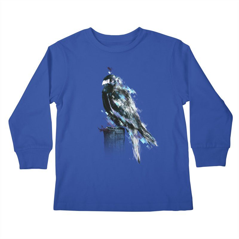 Flight Kids Longsleeve T-Shirt by 7sixes's Artist Shop