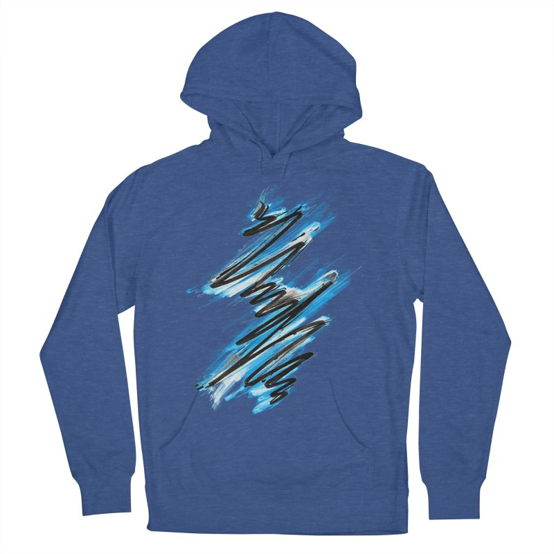 Frostwave Women's Pullover Hoody by 7sixes's Artist Shop