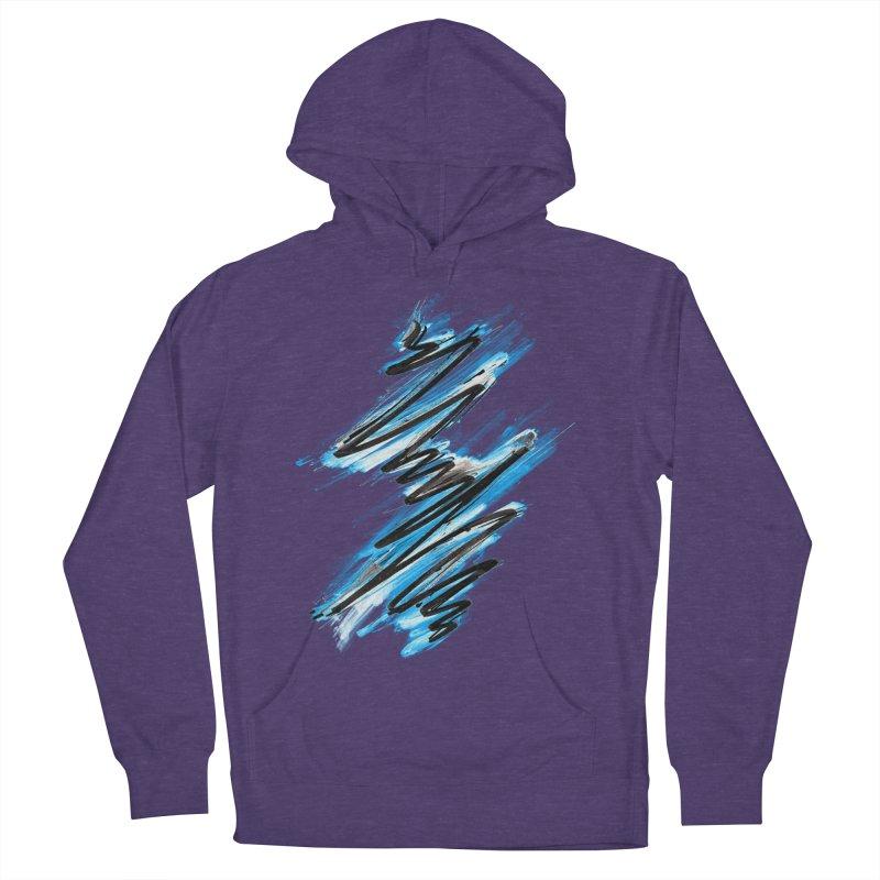 Frostwave Men's Pullover Hoody by 7sixes's Artist Shop