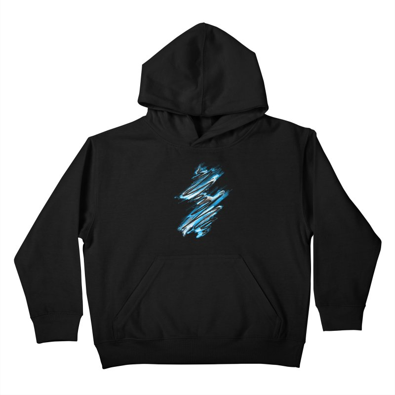 Frostwave Kids Pullover Hoody by 7sixes's Artist Shop