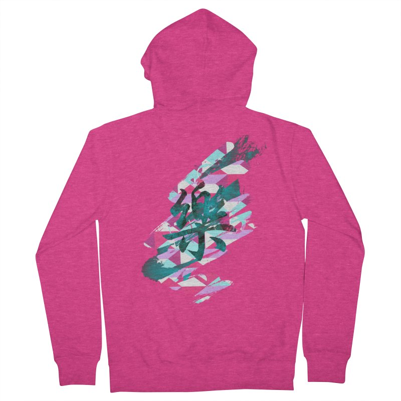Chaotic Melody Women's Zip-Up Hoody by 7sixes's Artist Shop