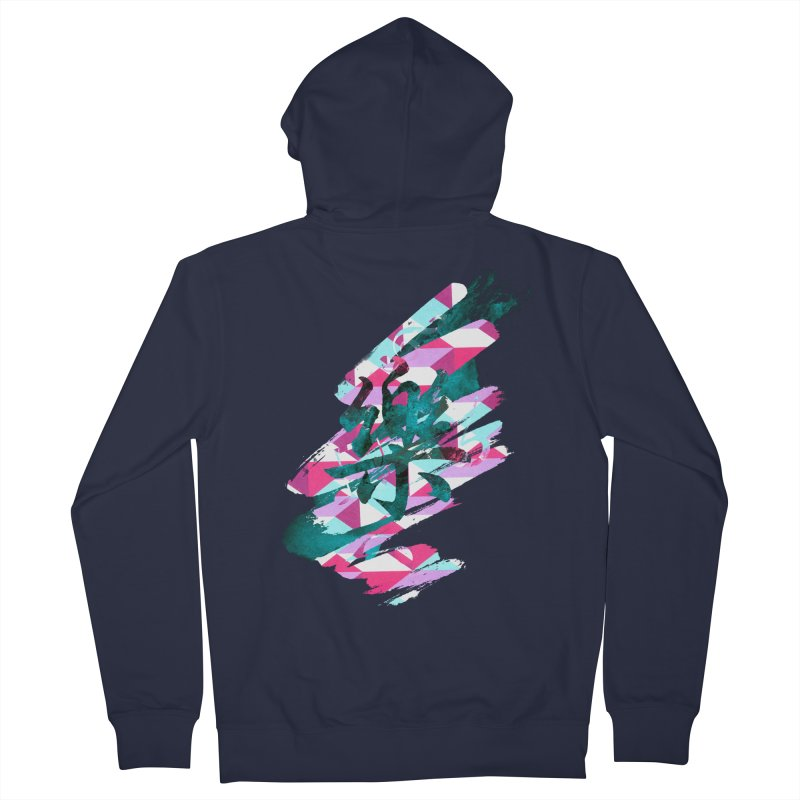 Chaotic Melody Men's Zip-Up Hoody by 7sixes's Artist Shop