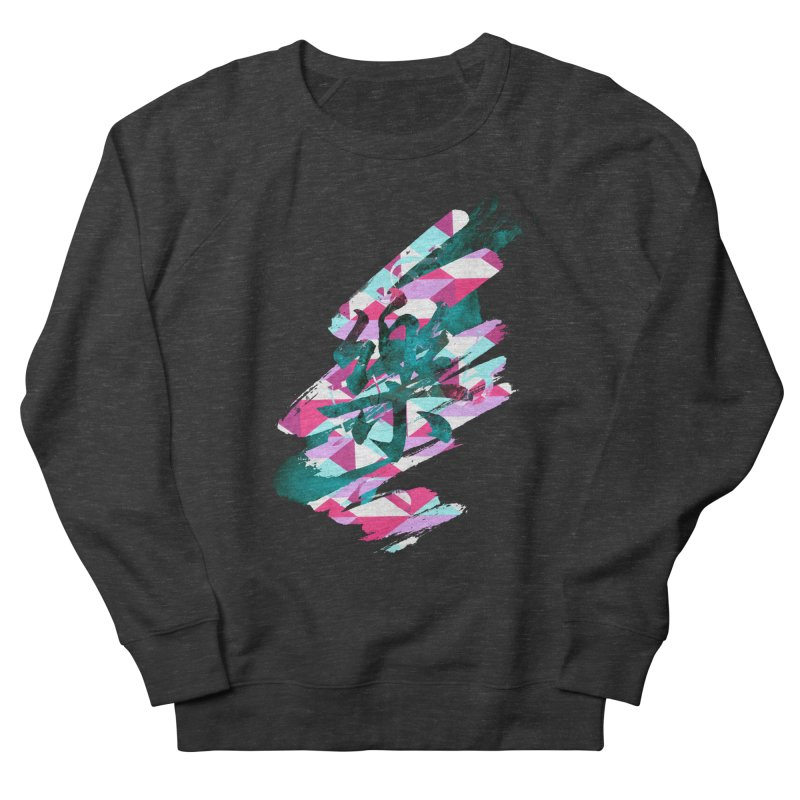 Chaotic Melody Women's French Terry Sweatshirt by 7sixes's Artist Shop